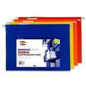 Premier Stationery A4 Coloured Suspension Files